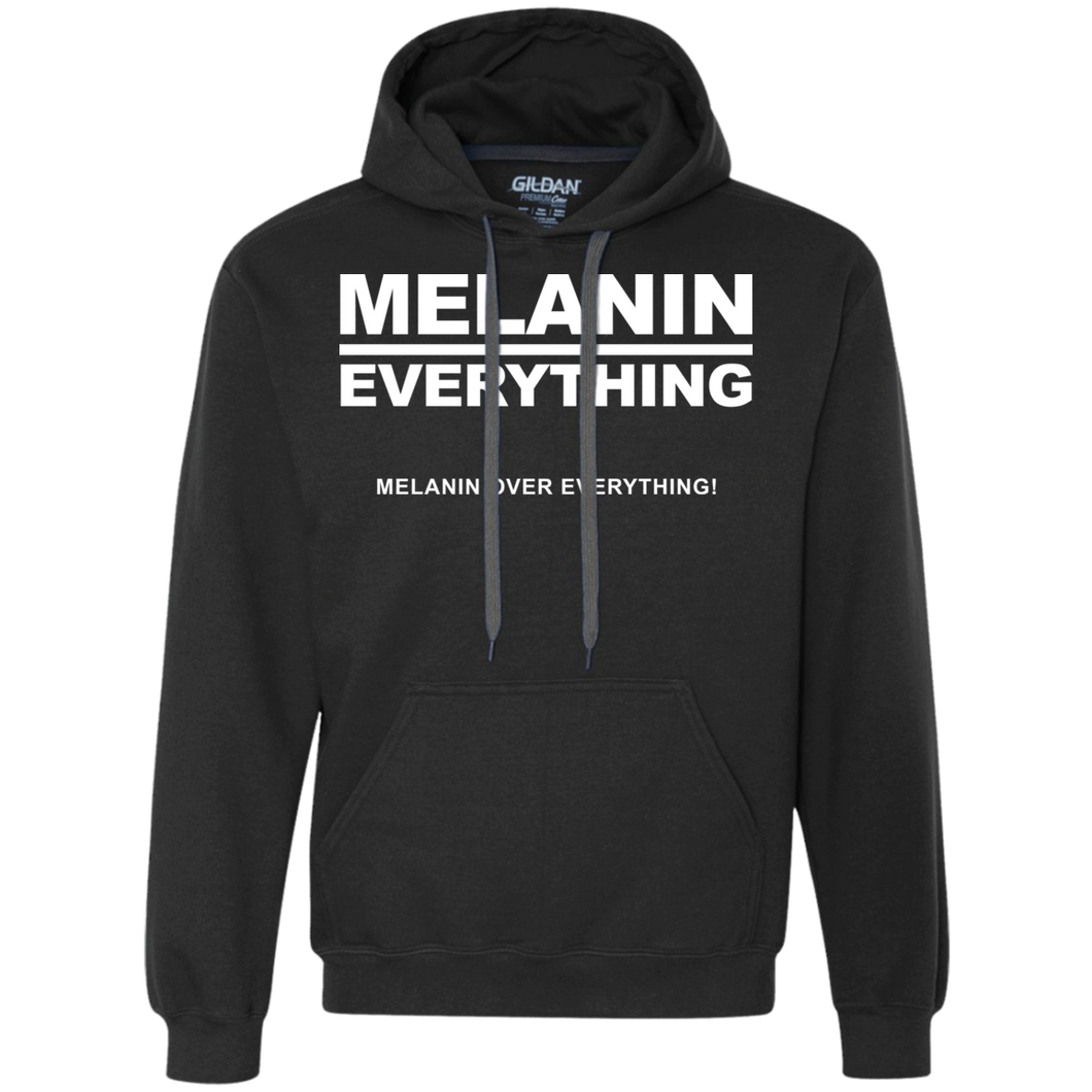 MELANIN OVER EVERYTHING Heavyweight Pullover Fleece (various colors)