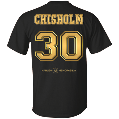 HARLEM MEMORABILIA [GOLD] - CHISHOLM 30  [2 Sided]