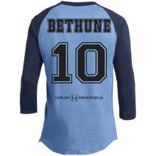 HARLEM MEMORABILIA - BETHUNE 10 Sporty T-Shirt [2 Sided] (various colors)