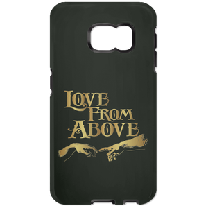 LOVE FROM ABOVE [GOLD] Samsung Galaxy S6 Edge Tough Case (various colors)