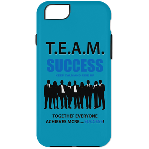 T.E.A.M. SUCCESS - RISE UP iPhone 6 Plus Tough Case (various colors)