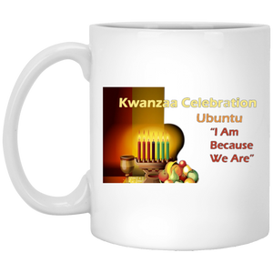 KWANZAA CELEBRATION - UBUNTU 11 oz. White Mug