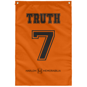 TRUTH 7 Wall Flag (various colors)