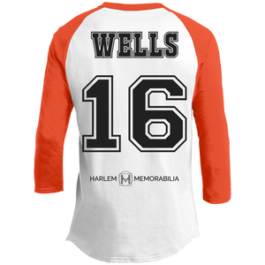 HARLEM MEMORABILIA - WELLS 16 Sporty T-Shirt [2 Sided] (various colors)