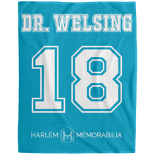 DR. WELSING 18 Extra Large Velveteen Micro Fleece Blanket - 60x80 (various colors)