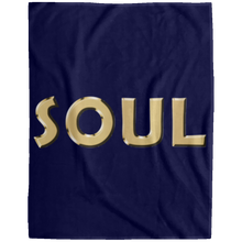 SOUL Extra Large Velveteen Micro Fleece Blanket - 60x80 (various colors)