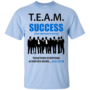 T.E.A.M. SUCCESS [YOUR GREATNESS WITHIN] Ultra Cotton T-Shirt (various colors)