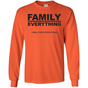 FAMILY OVER EVERYTHING LS (various colors)