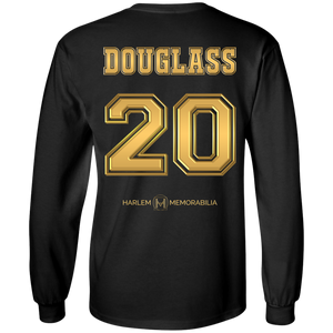 HARLEM MEMORABILIA LS [GOLD] - DOUGLASS 20 [2 Sided]