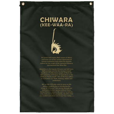 CHIWARA [KEE-WAA-RA] Wall Flag (various colors)