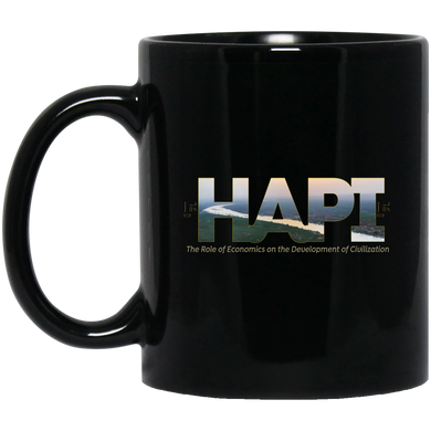 HAPI 11 oz. Black Mug