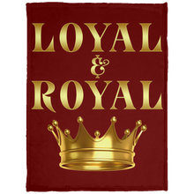 LOYAL AND ROYAL Baby Velveteen Micro Fleece Blanket - 30x40 (various colors)