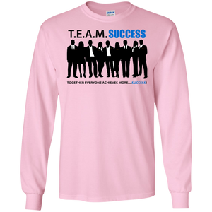 T.E.A.M. SUCCESS LS Ultra Cotton T-Shirt (various colors)