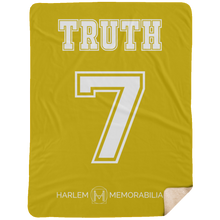 TRUTH 7 Extra Large Fleece Sherpa Blanket - 60x80 (various colors)