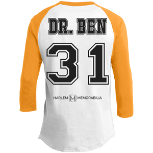 HARLEM MEMORABILIA - DR. BEN 31 Sporty T-Shirt [2 Sided] (various colors)