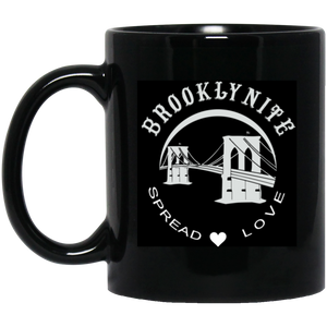 BROOKLYNITE 11 oz. Black Mug