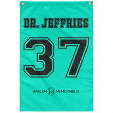 DR. JEFFRIES 37 Wall Flag (various colors)