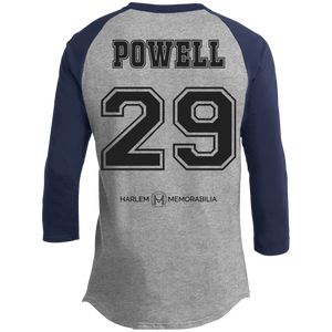 HARLEM MEMORABILIA - POWELL 29 Sporty T-Shirt [2 Sided] (various colors)