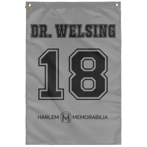 DR. WELSING 18 Wall Flag (various colors)