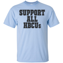 SUPPORT ALL HBCUs (various colors)