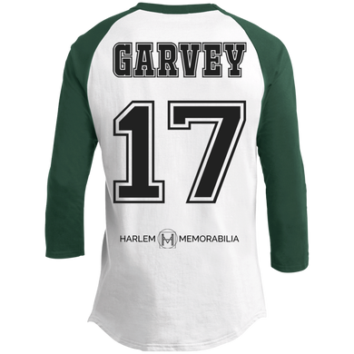 HARLEM MEMORABILIA - GARVEY 17 Sporty T-Shirt [2 Sided] (various colors)