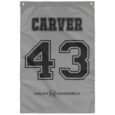 CARVER 43 Wall Flag (various colors)