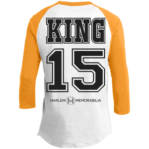 HARLEM MEMORABILIA - KING 15 Sporty T-Shirt [2 Sided] (various colors)