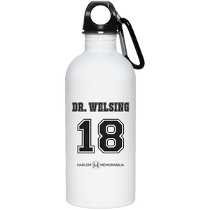 HARLEM MEMORABILIA - DR. WELSING 18 20 oz. Stainless Steel Water Bottle