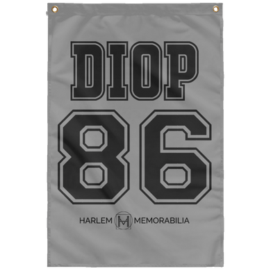 DIOP 86 Wall Flag (various colors)
