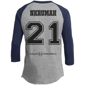 HARLEM MEMORABILIA - NKRUMAH 21 Sporty T-Shirt [2 Sided] (various colors)