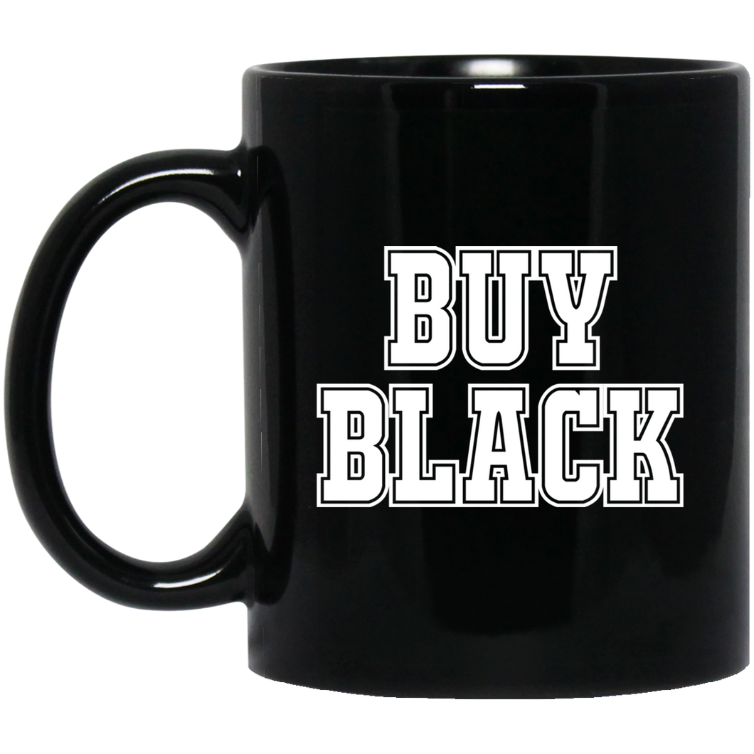 BUY BLACK 11 oz. Black Mug