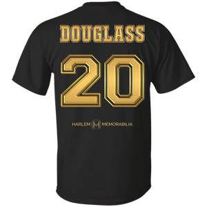HARLEM MEMORABILIA [GOLD] - DOUGLASS 20 [2 Sided]