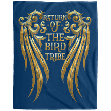 RETURN OF THE BIRD TRIBE Extra Large Velveteen Micro Fleece Blanket - 60x80 (various colors)