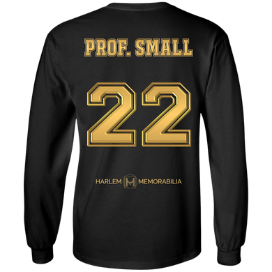 HARLEM MEMORABILIA LS [GOLD] - PROF. SMALL 22 [2 Sided]
