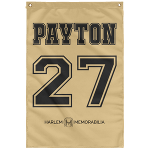 PAYTON 27 Wall Flag (various colors)