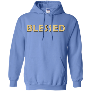 BLESSED Pullover Hoodie 8 oz. (various colors)