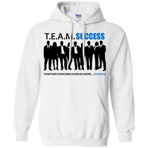 T.E.A.M. SUCCESS Pullover Hoodie 8 oz. (various colors)