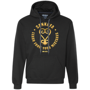 SANKOFA - LEARN FROM YOUR MISTAKES Heavyweight Pullover Fleece Sweatshirt
