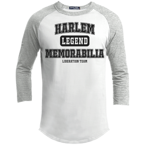 HARLEM MEMORABILIA - TUBMAN 1 Sporty T-Shirt [2 Sided] (various colors)