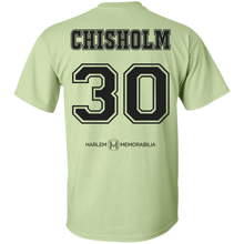 HARLEM MEMORABILIA - CHISHOLM 30 [2 Sided] (various colors)