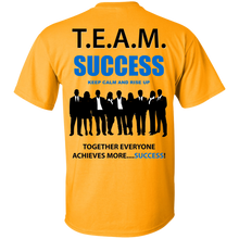 T.E.A.M. SUCCESS - RISE UP [2 Sided] (various colors)