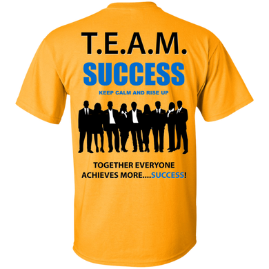 T.E.A.M. SUCCESS - RISE UP Ultra Cotton T-Shirt [2 Sided] (various colors)