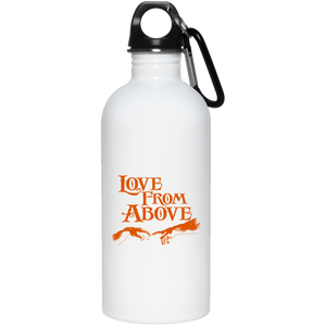 LOVE FROM ABOVE [BRONZE]  20 oz. Stainless Steel Water Bottle