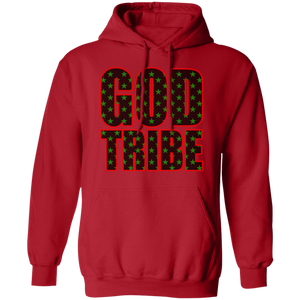 GOD TRIBE Pullover Hoodie 8 oz. (various colors)