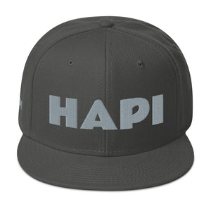HAPI [PLATINUM] Snapback Hat [Embroidered]