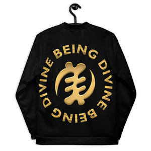 DIVINE BEING BEING DIVINE Unisex Bomber Jacket