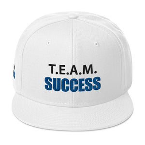 T.E.A.M. SUCCESS Snapback Hat [Embroidered]