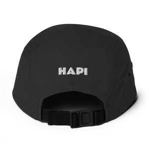 HAPI Five Panel Cap [Embroidered]
