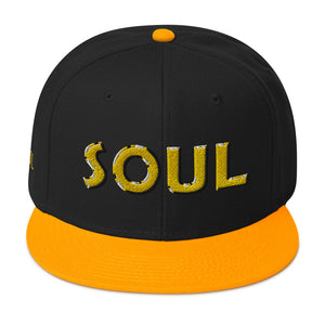 SOUL [GOLD] Snapback Hat [Embroidered]