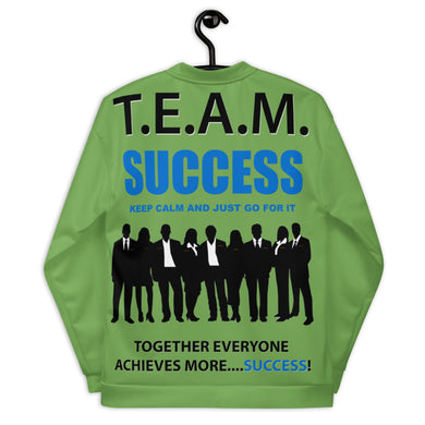 T.E.A.M. SUCCESS [GO FOR IT] Unisex Bomber Jacket